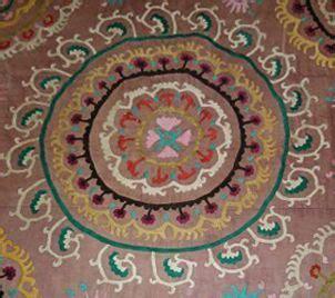 learn to stitch a traditional uzbek motif