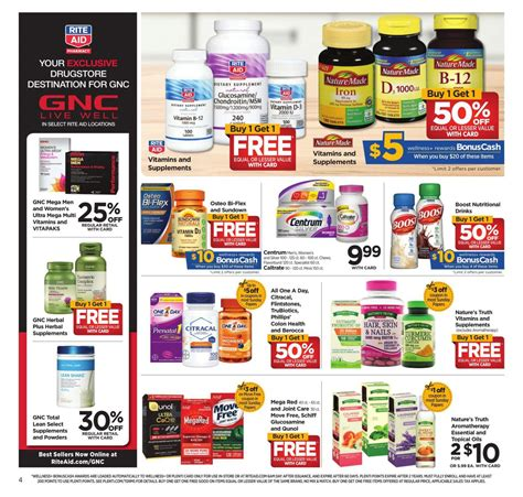 rite aid weekly ad     daily saving deals