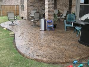 looking simple concrete patio design ideas patio