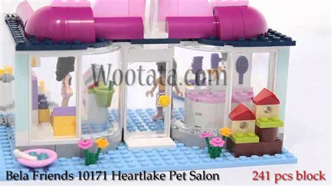 Lego Friends Mainan Lego Anak Anak Murah mainan anak perempuan bongkar pasang lego block friends 10171 heartlake pet salon