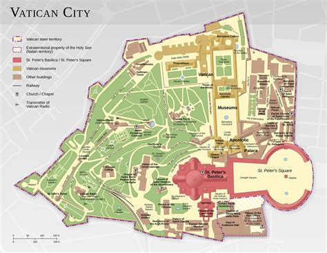where is city on the map map of vatican city monuments buildings