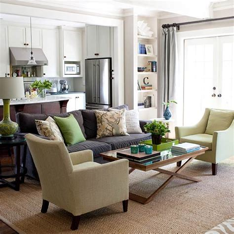 Green And Brown Living Rooms by 15 Green Living Room Design Ideas