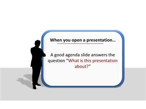 5 creative presentation agenda ideas