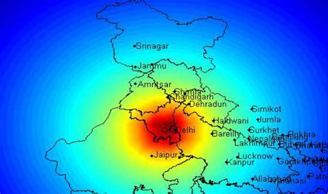earthquake gurgaon earthquake of magnitude 4 1 hits delhi ncr tremors felt