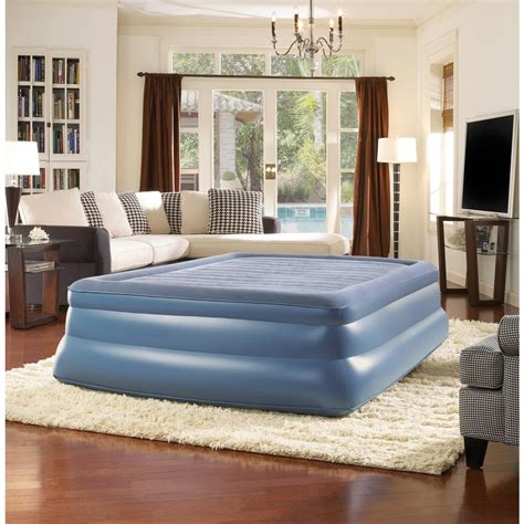 simmons beautyrest sky rise air mattress hddod7191qn the home depot