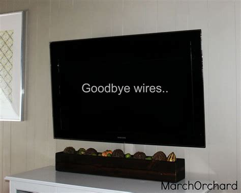 Hometalk   Hiding TV Wires With Ikea Cover