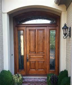 Front Doors For Homes Wood Entry Doors Applied For Home Exterior Design Traba