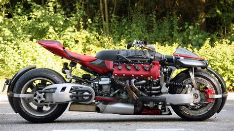 maserati motorcycle would you ride this mad maserati engined motorbike