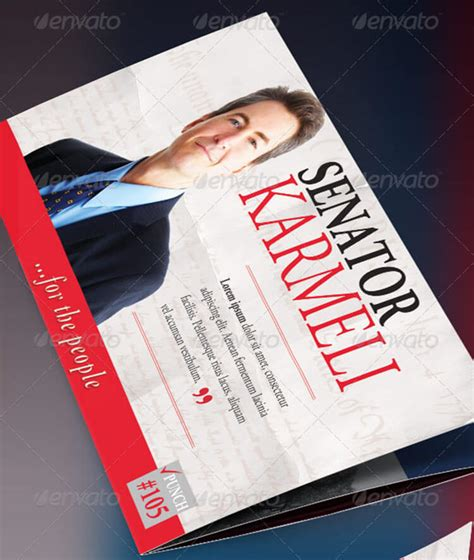 political brochure templates election brochure templates psd free premium brochures