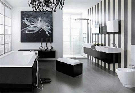 Modern Black And White Bathroom by Black Bathroom Design Ideas To Be Inspired