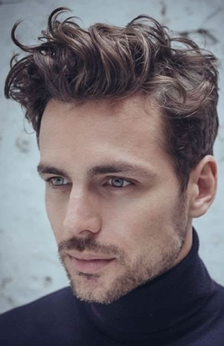 mens wavy hairstyles how to plus barberdeano and short mens hairstyles short sides wavy top hair