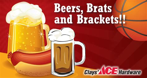 clays ace hardware sold beers brats and brackets march 23 2016 ace hardware