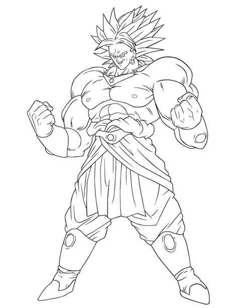 dragon ball character coloring page h m coloring pages dragon ball broly coloring page h m coloring pages