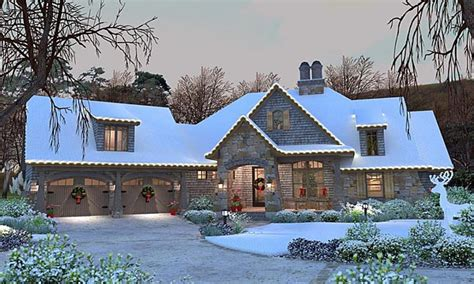 cottage craftsman country house plan house style