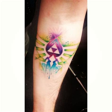 watercolor tattoo zelda 17 best images about the rebel in me on