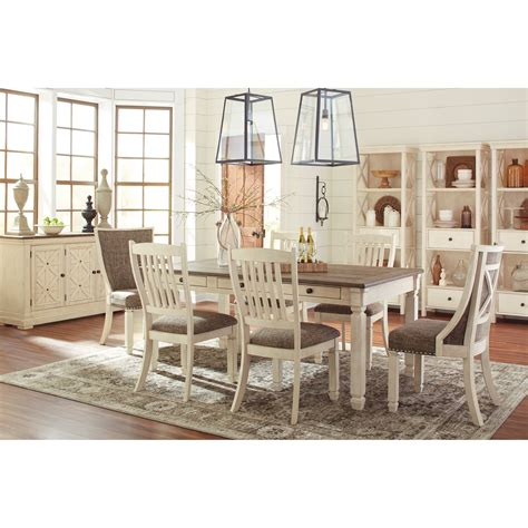 signature design by ashley chimerin casual dining room set signature design by ashley bolanburg casual dining room