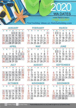 western australian school term  school holidays calendar