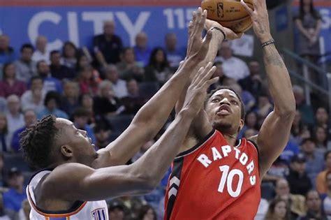 Westbrook Mba by Demar Derozan Drops 37 As Raptors Buck Start To