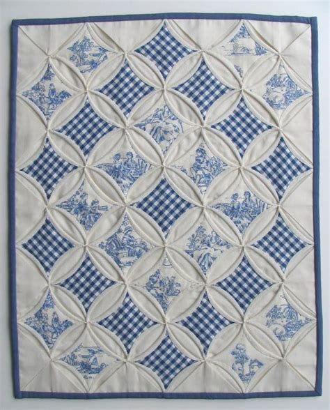 Cathedral Window Quilt Directions by Cathedral Window Quilt Decor Diy
