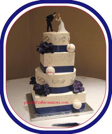 baseball themed wedding cake grace tari flickr