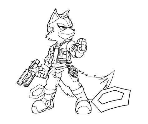 star fox zero coloring pages yumiko fujiwara