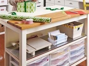 Scrapbooking Desk Ikea Craft And Sewing Room Storage And Organization Interior