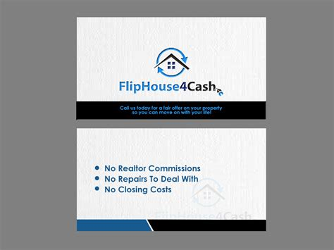 real estate investor business card template iphone real estate business cards picture or no picture choice