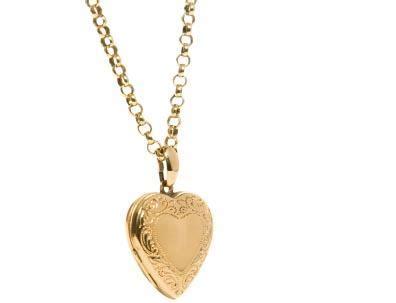 14k gold photo engraved lockets | lovetoknow