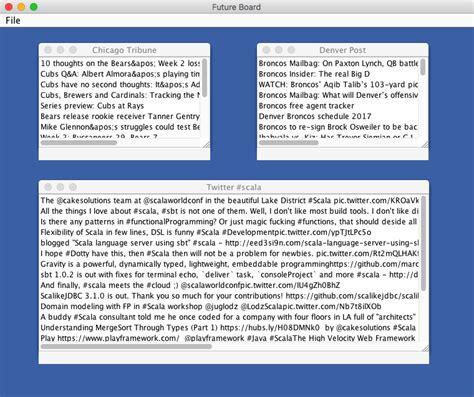 scala swing tutorial future board like flipboard with scala futures