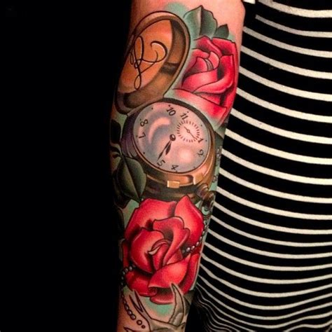 guy rose tattoos pocket roses by timmy b the talent this