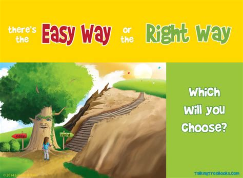 the which way tree books quote about choices for children talking with trees