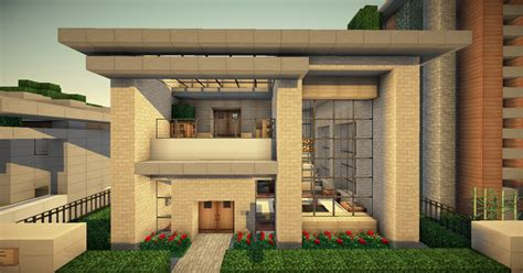 100 floors level 46 tutorial small simple modern house wok server minecraft project