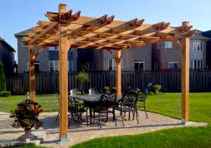 12x12 Pergola by Pavilion Kits 12 X 12 Breeze Pergola Outdoor Living Today