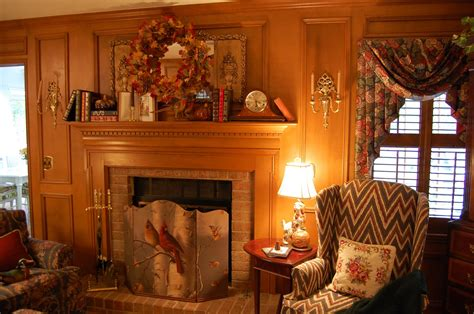 Fireplace Surround Ideas Decorate A Fireplace Mantel For Fall Or Autumn With Books