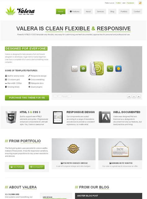 20 Best Selling Html5 Css3 Responsive Website Templates On Themeforest Designbeep Html5 Responsive Web Templates