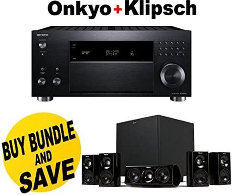 onkyo tx rz900 7 2 channel network a v receiver klipsch