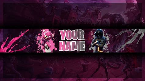 fortnite banner template free fortnite banner template channel