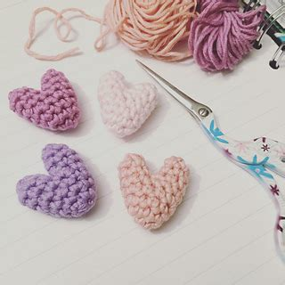 ravelry patterns library little hearts ravelry little hearts pattern by flo and dot