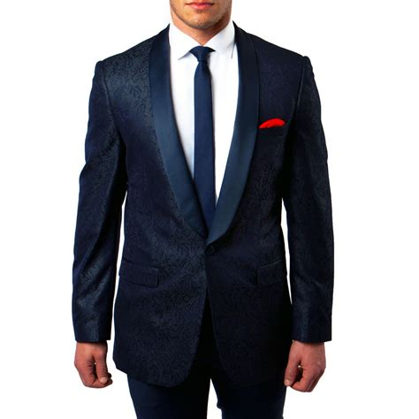 navy tuxedo jacket pattern with shawl
