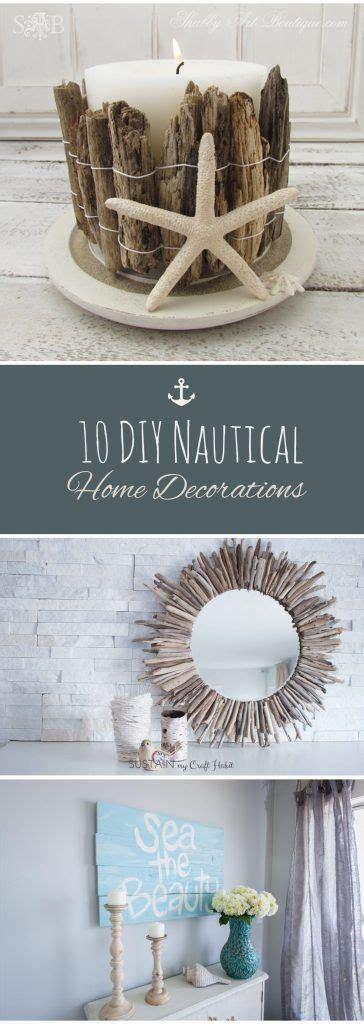 marine decorations for home 25 best ideas about rustic beach decor on pinterest