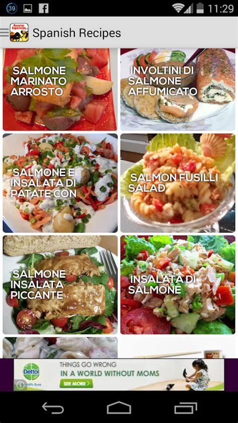 printable spanish recipes cookbook free spanish recipe android apps on google play