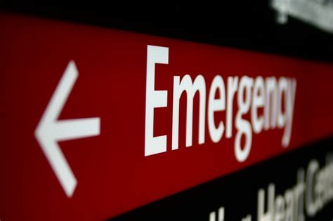 Emergency Room Signage by As A Human Emergency Room Sign