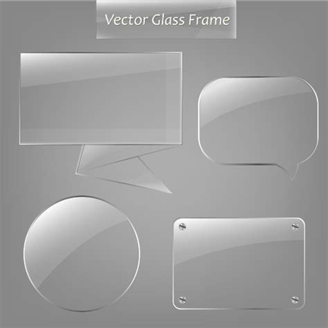 does eps format support transparency transparent glass styles web elements vectors 02 vector