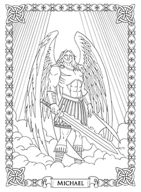 coloring pages for adults michaels jophiel archangel metatron archangel raphael set of 5