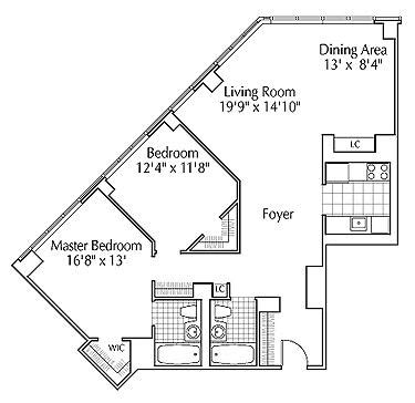 river place floor plan 1 river place rentals river place apartments for rent