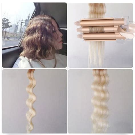 perm using large rollers 3 barrels automatic hair curler ceramic large wave perm
