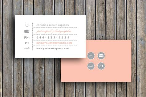 Business Card Template Business Cards Vintage Business Card Etsy Card Templates