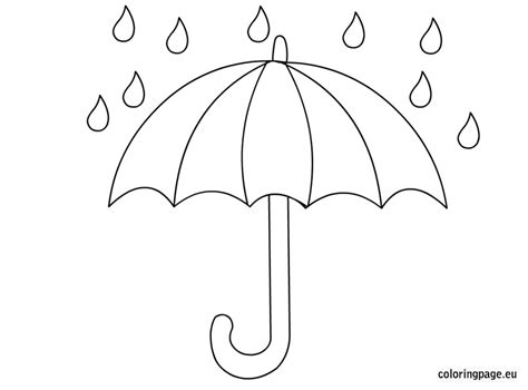Coloring Page Umbrella by Charming Umbrella Picture To Color Coloring Book Page