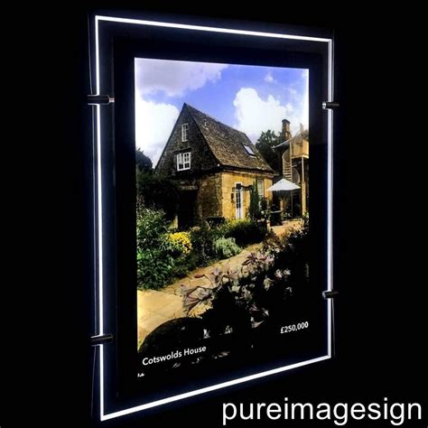 lighted window displays a4 a3 a2 a1 led window light pocket light panel estate display single side ebay