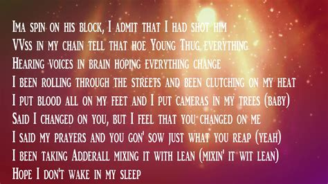 Lyrics To Mba Youngboy by Nba Youngboy Genie Lyrics
